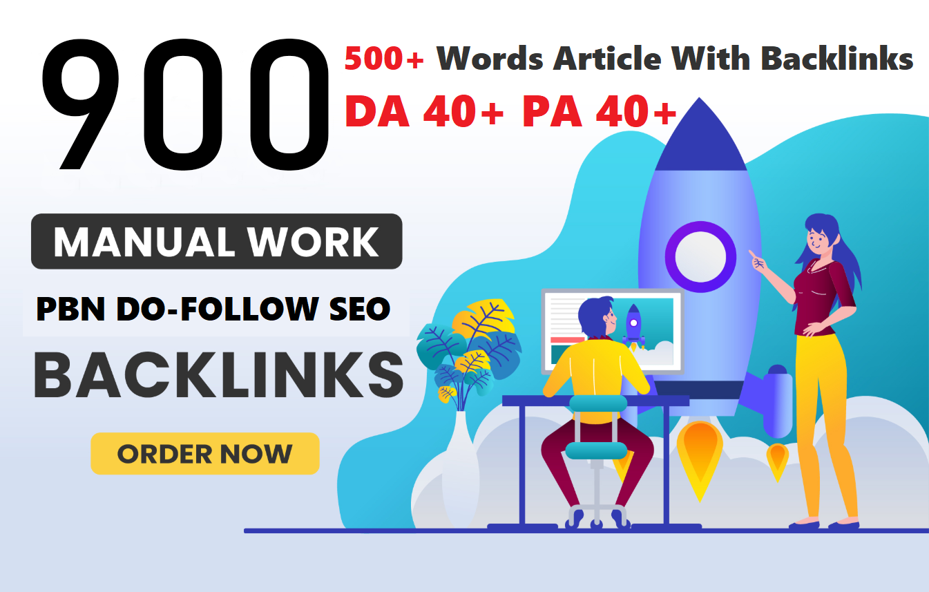 Get Extream 900+ WEB 2.0 PBN Backlink in your website with HIGH DA/PA/TF/CF with unique website