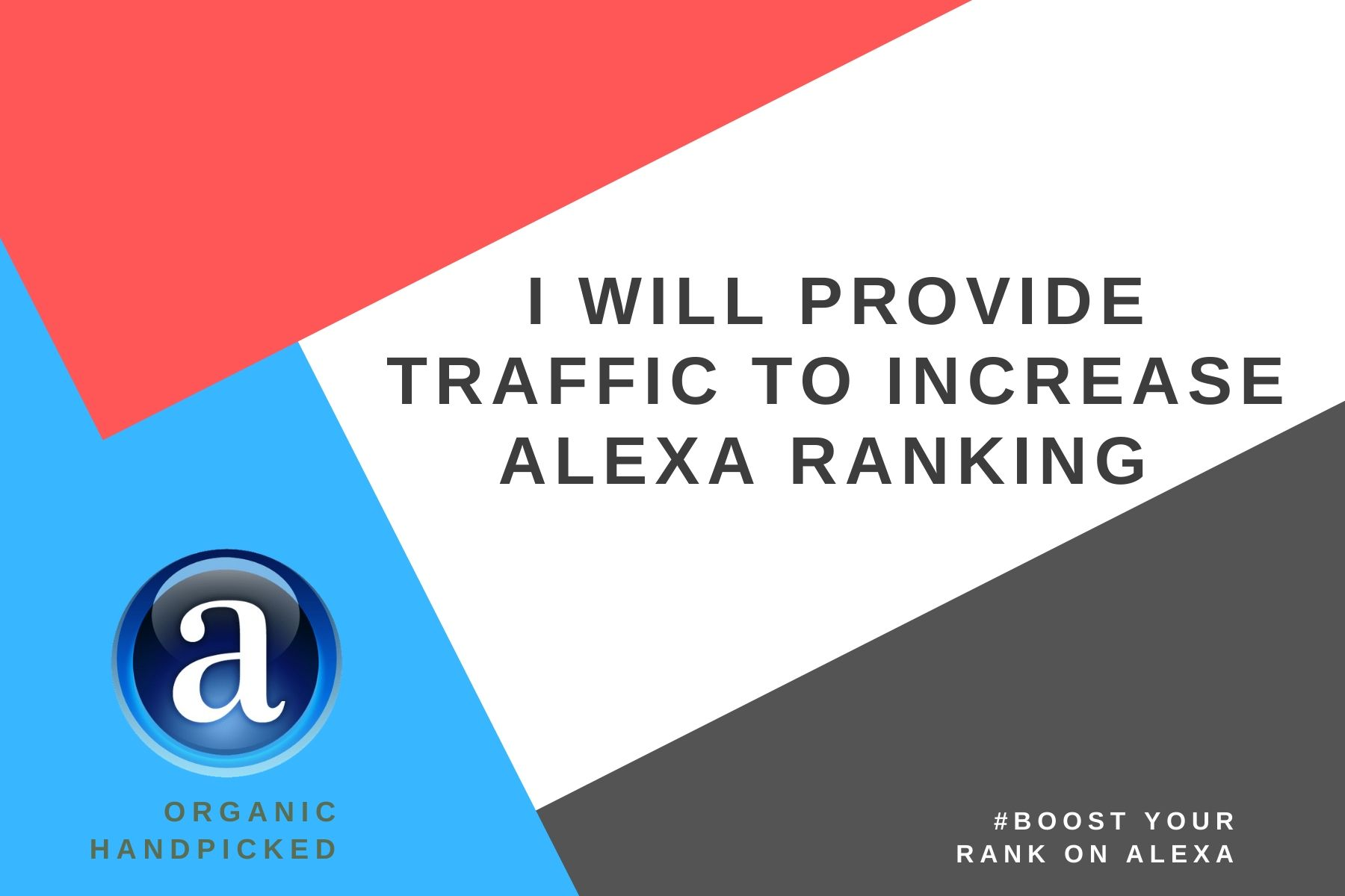 I will provide traffic to increase Alexa ranking