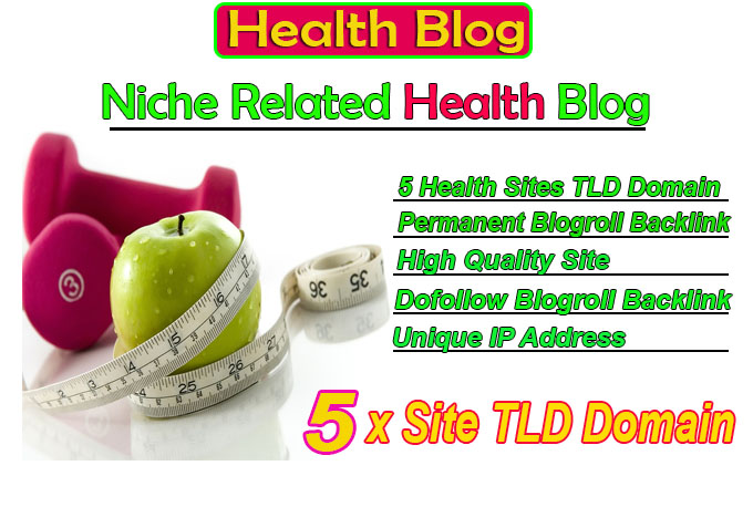 give link 5 site health tld blogroll permanent