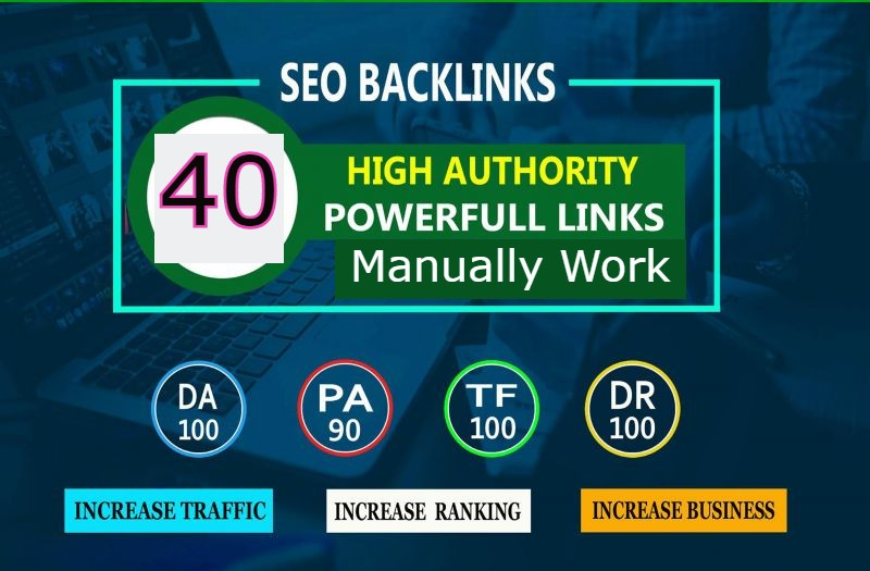 I Will Create High Quality 40 PR9 SEO Backlink