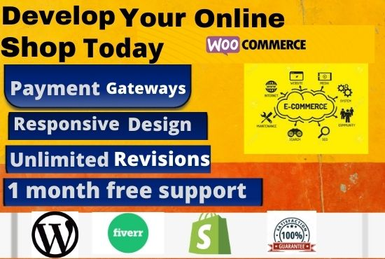 I will build bussiness ecommerce website in 2 days
