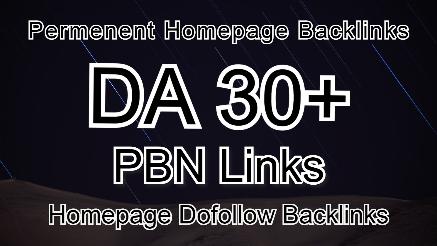 I'll provide you high authority DA 30+ PBN backlink.