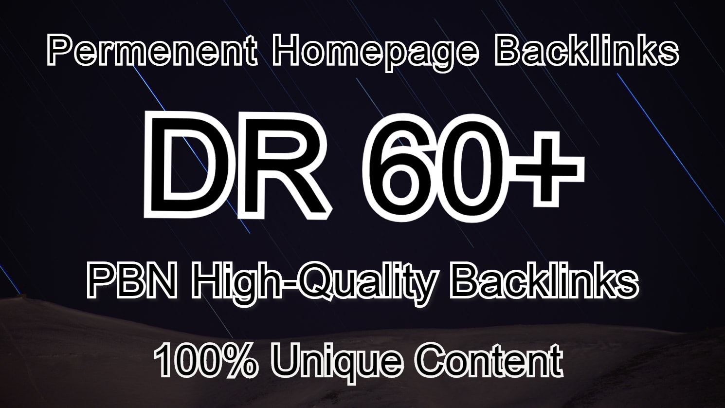 I'll provide you high authority DR 60+ PBN backlink.
