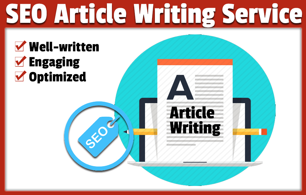 I will write seo friendly article for you