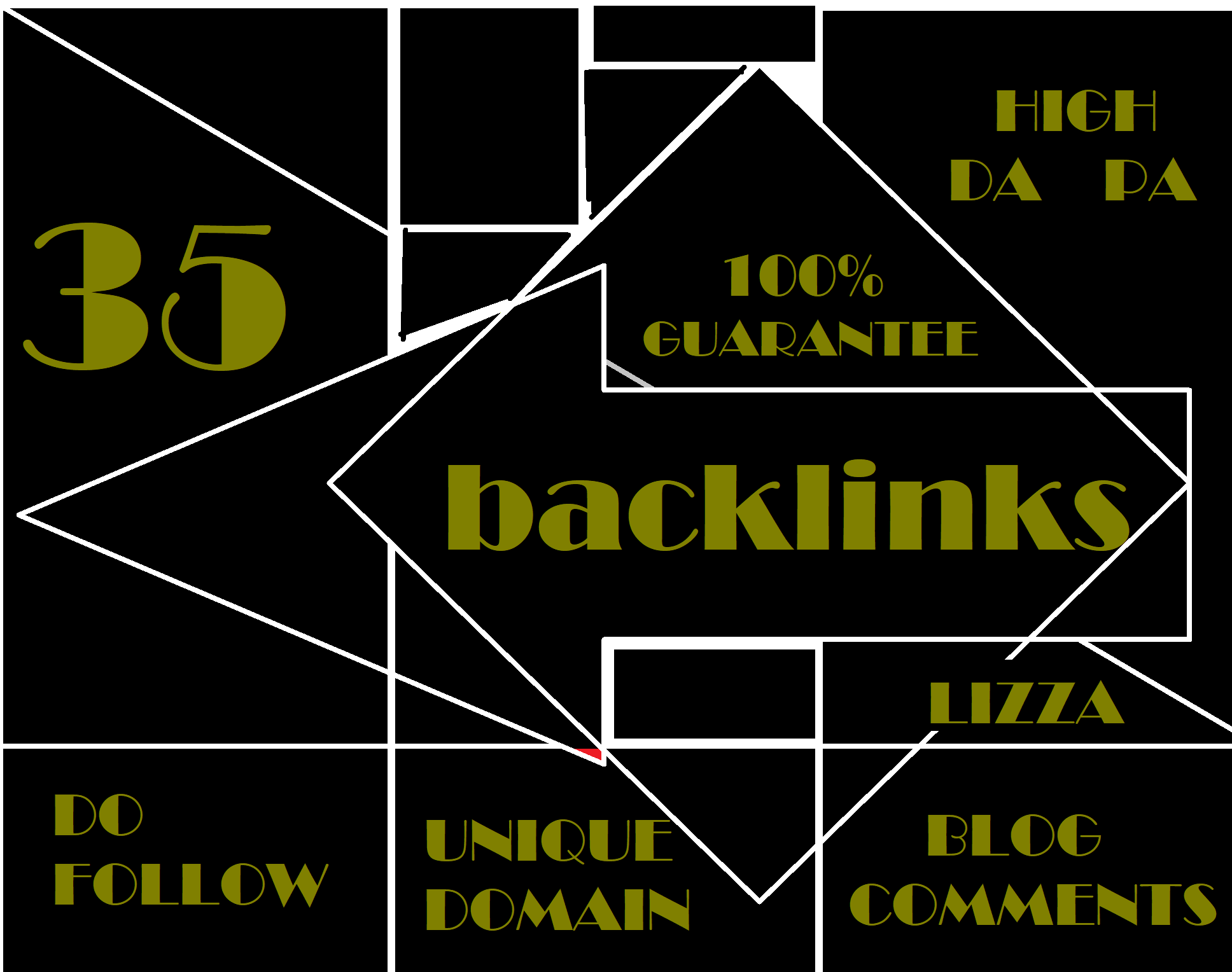 provide 35 backlinks unique domain High DA PA Do follow blog comments
