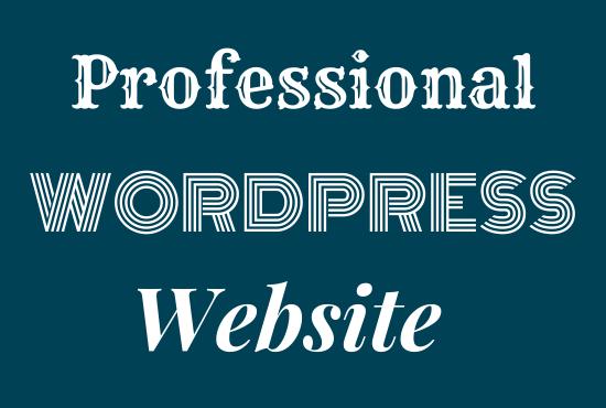 create a mobile friendly wordpress website design