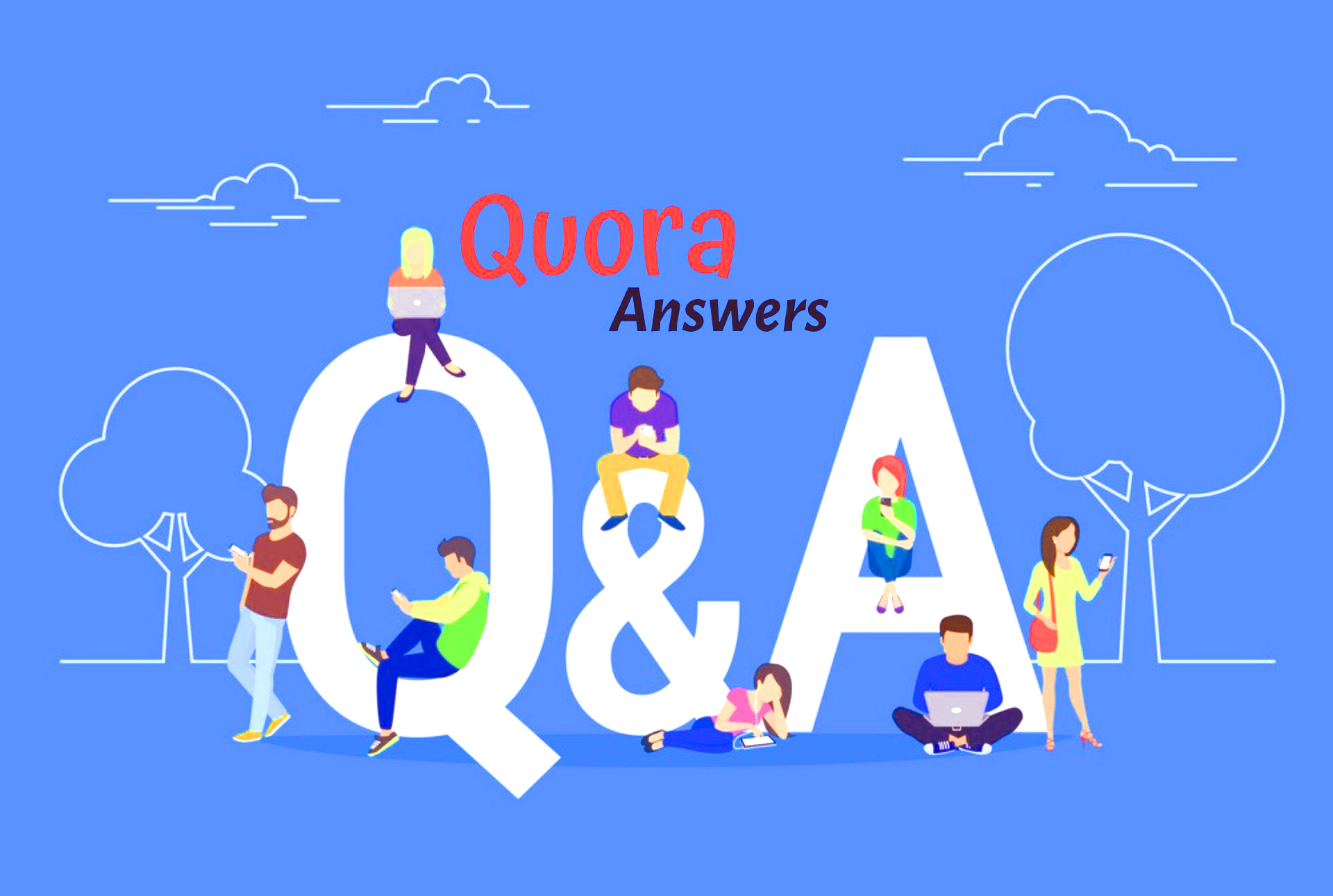Promote your website 5 high quality Quora answer with your keyword & URL