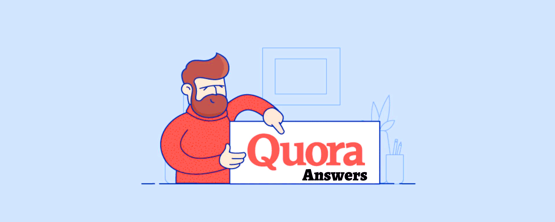 Promote your website 5 high quality quora answers with your keyword & URL
