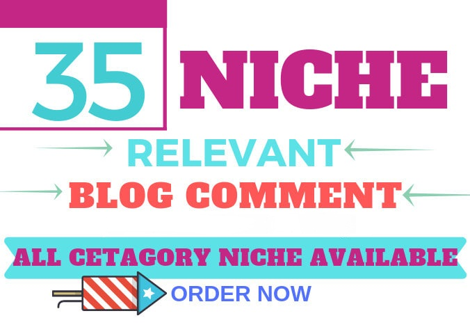 I will Provide 35 niche relevant nofollow backlinks
