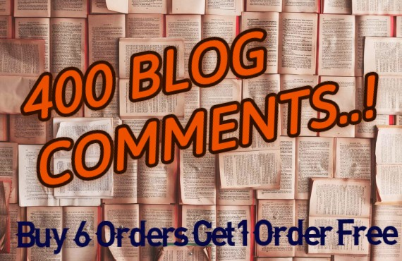 I will provide 400 Do-follow Blog comments