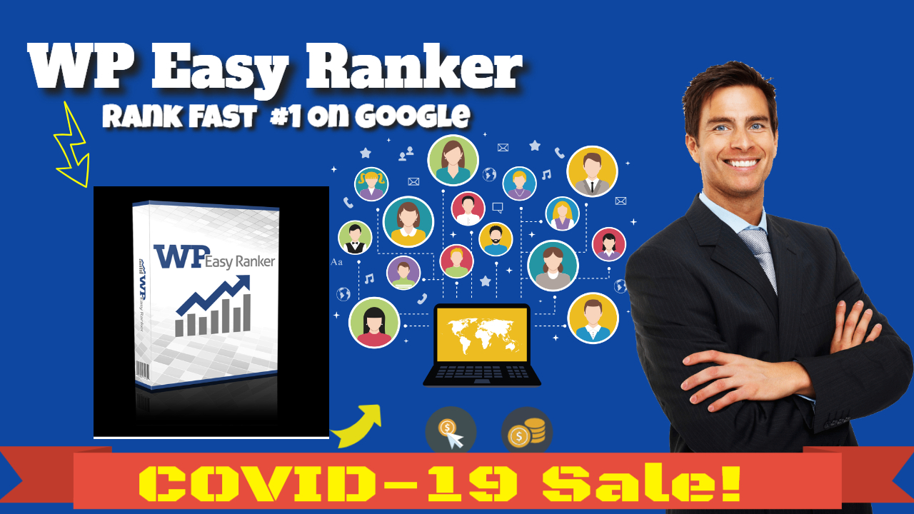 WP Easy Ranker Software rank page 1 on google Covid-19 Sale