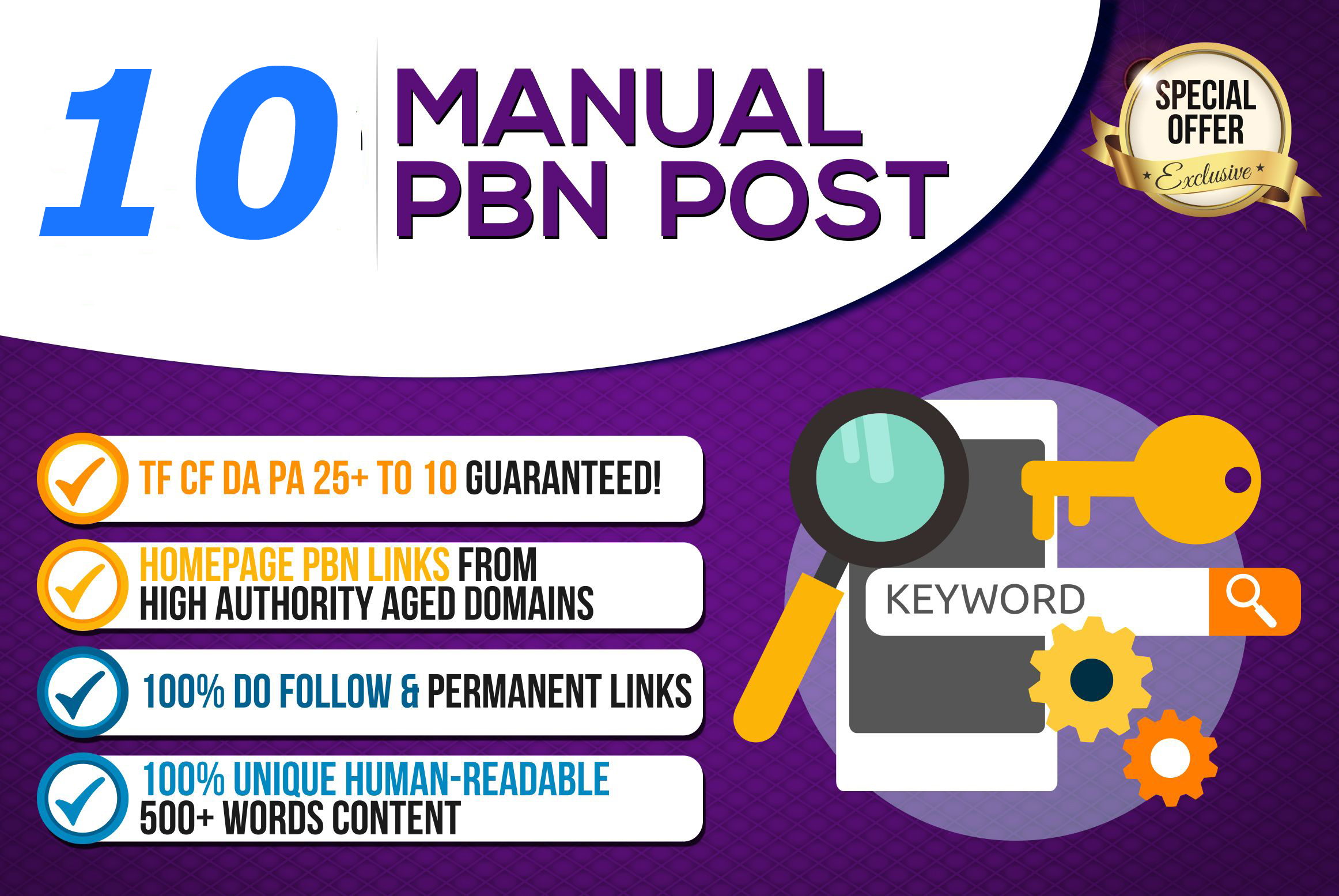 Build 10+parmanent PBN with High DA PA and 100 Dofollow with 10 unique website