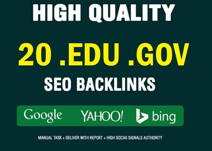 20 EDU/GOV Dynamic Multi backlinks From Big Universities & gov Site Affordable Price