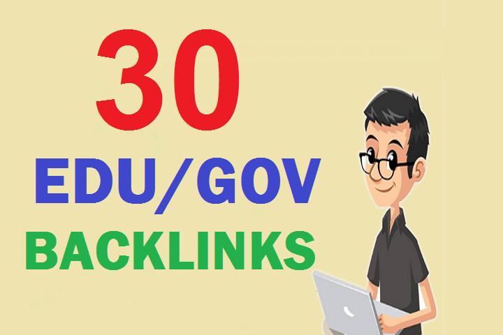 30 EDU/GOV Dynamic Multi backlinks From Big Universities & gov Site Affordable Price