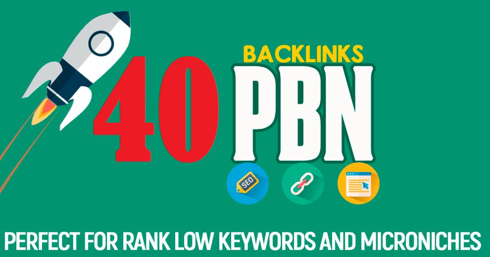 40 PBN DA 30 To 15 Aged Domains High PA/CF/TF Dofollow Permanent contextual backlinks