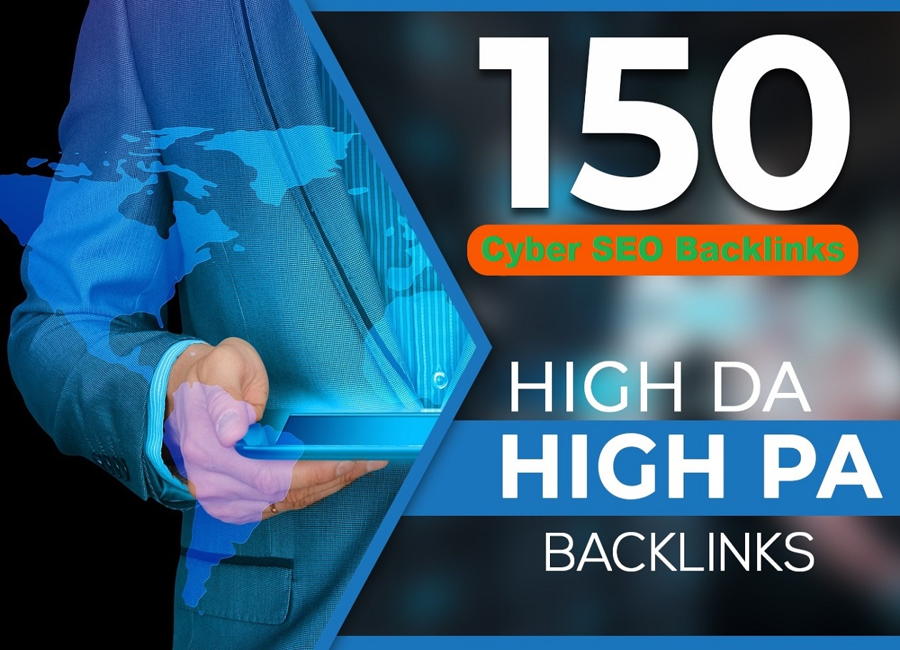 I will Do 150 links from high DA PA 100 site to improve your top ranking