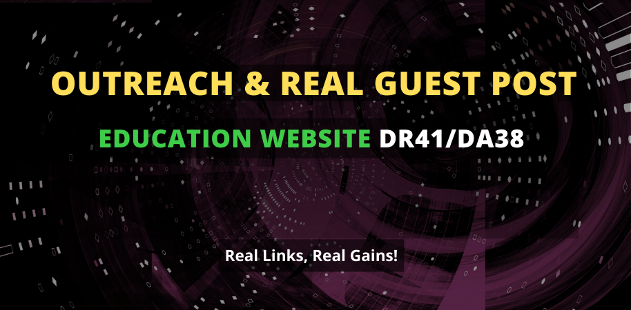 I will publish a guest post on 41 DR education website