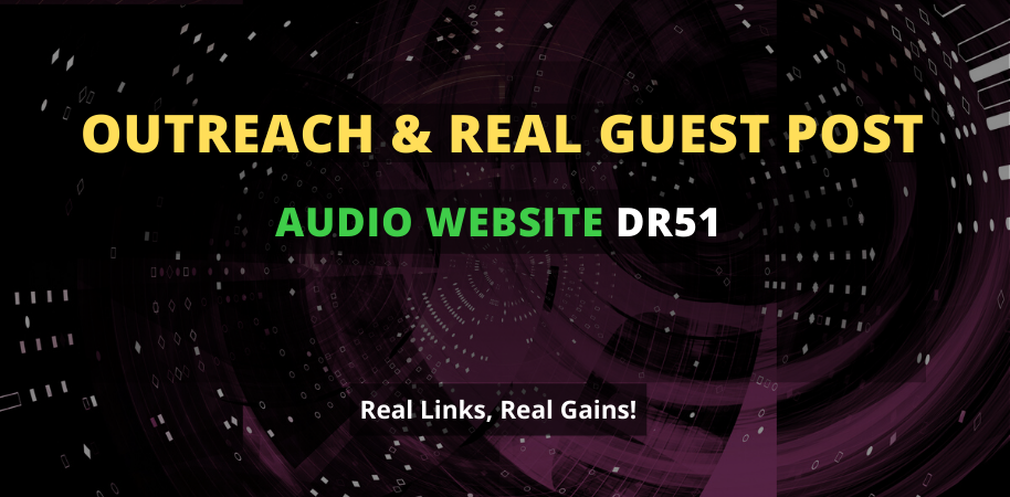 I will publish a guest post on 51 DR audio website