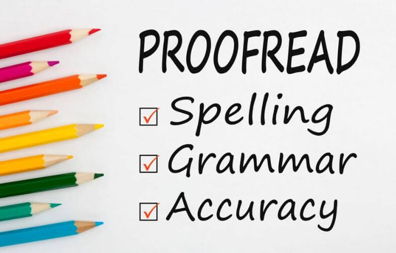 I will proofread and edit your English text and document