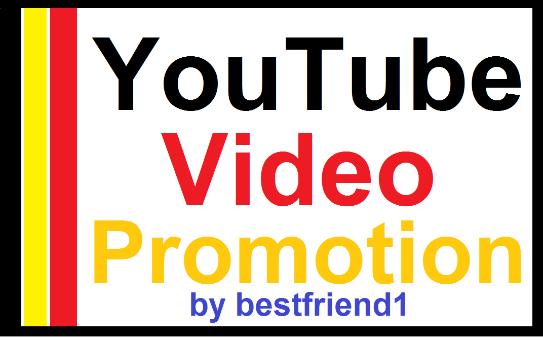 High Quality Real YouTube Video Promotion