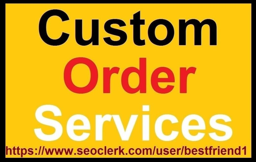 Valentine Day Offer Custom Order For All My Clients