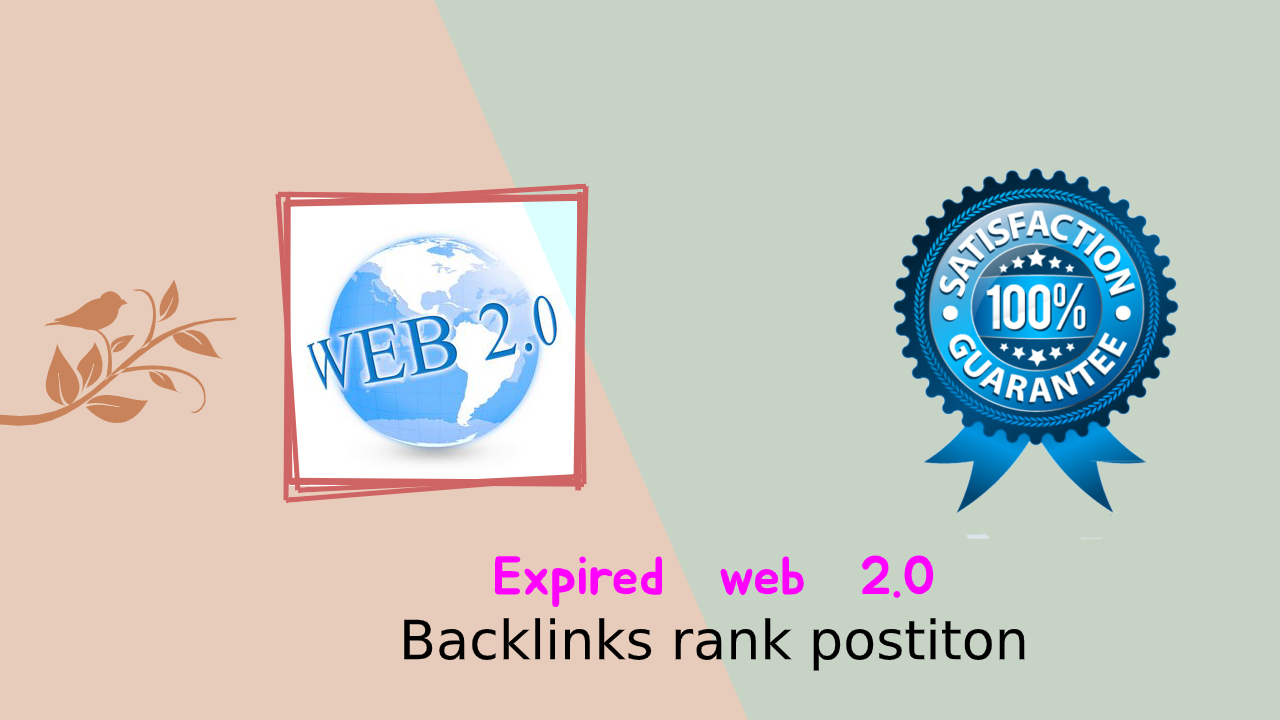 I will create Expired web 2.0 backlinks 50 High DA Pa