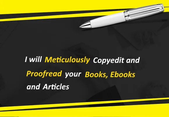 Hello Welcome to my platform. I am Sohail,  a professional proofreader in Freelancing world.