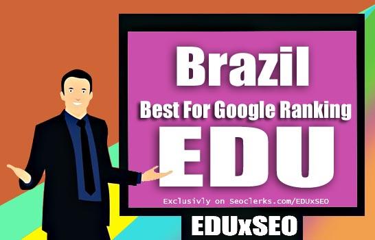 Brazil Based 400 EDU GOV permanent Backlink