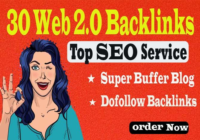 Create 30+ Web2.0 Super Buffer Blog Dofollow Backlinks