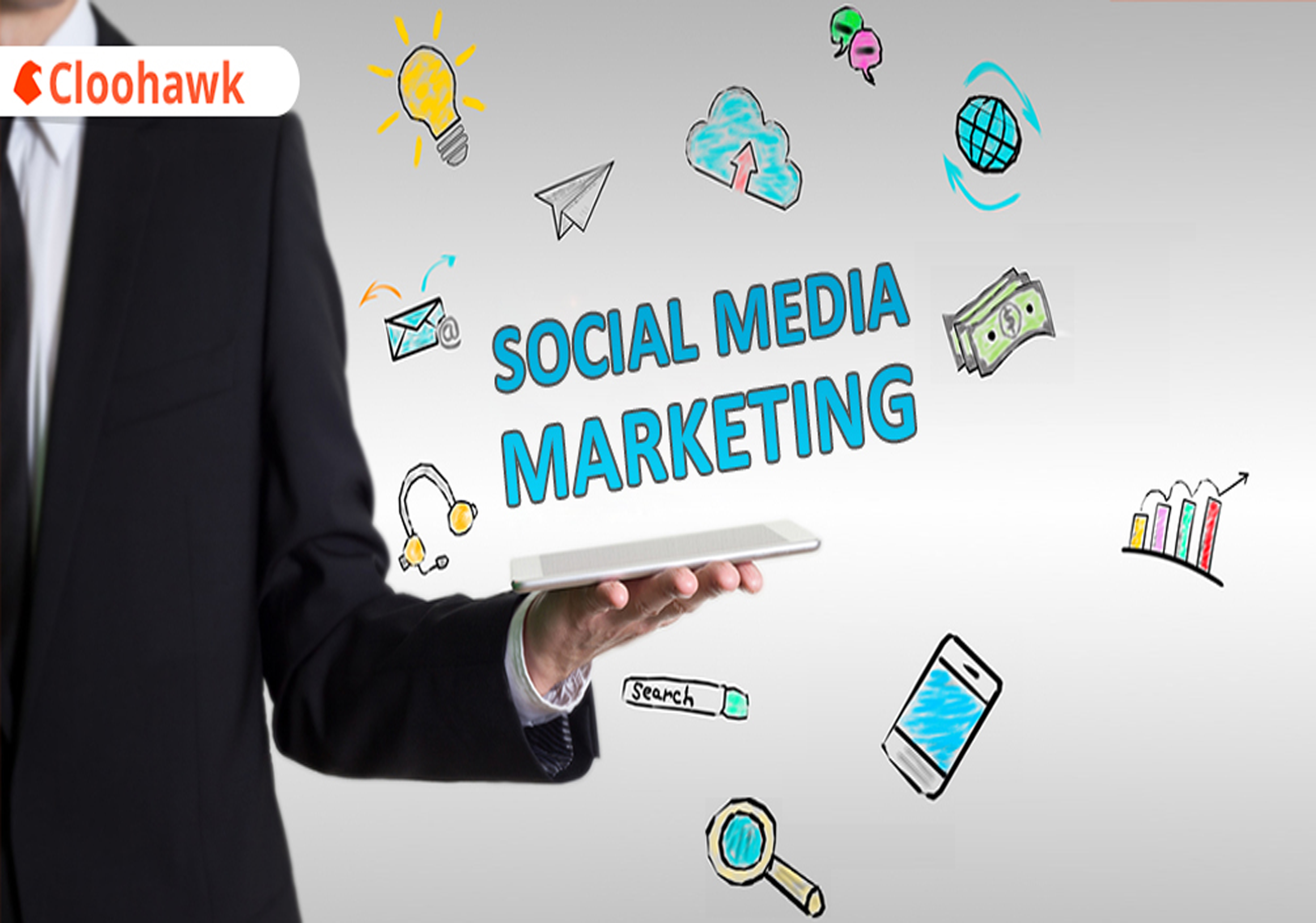 your business page social media manager and social media marketing