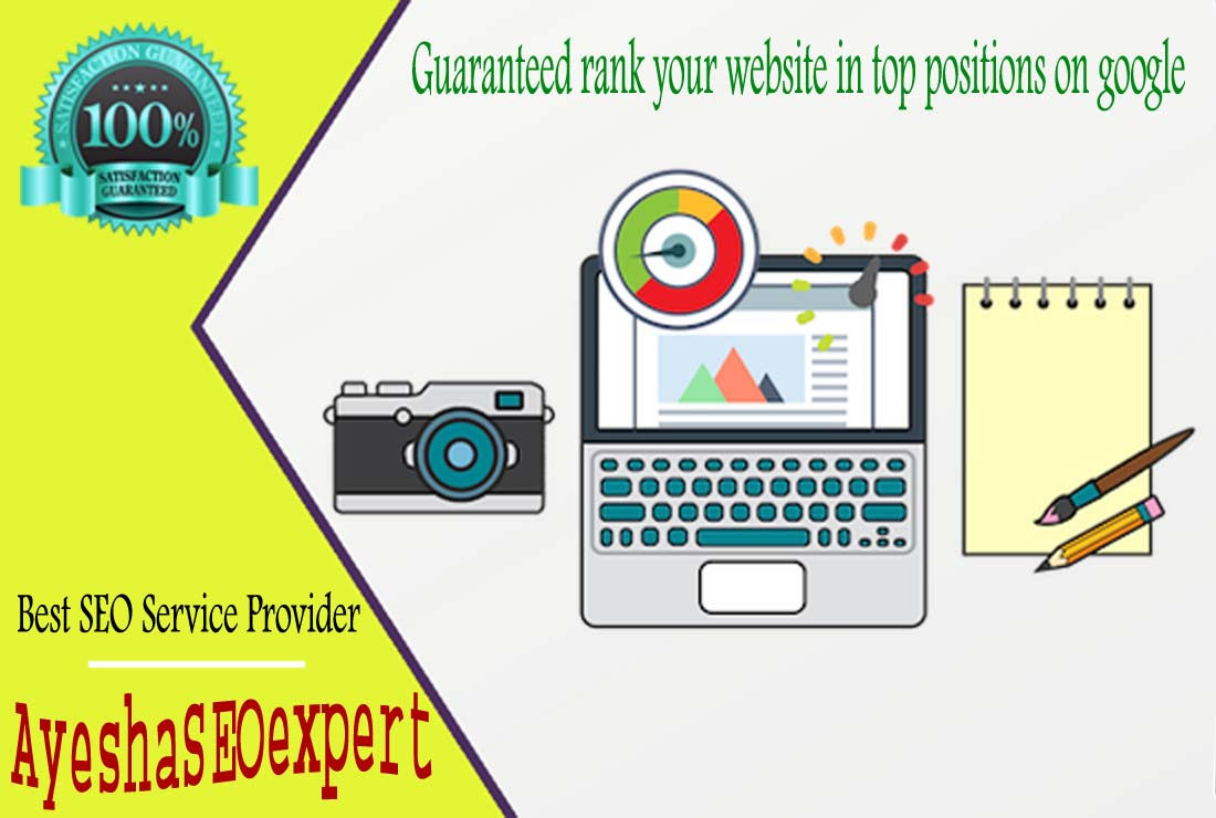 Guaranteed rank your website in top positions on google