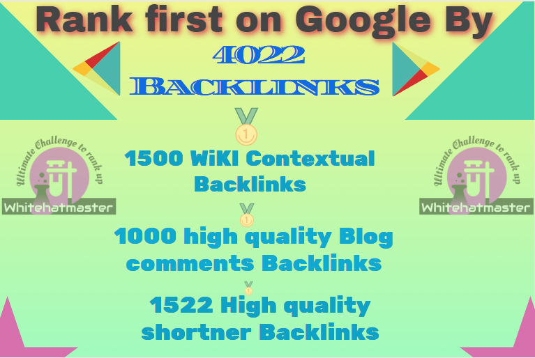 Buy 4022 wiki Contextual & Blog Comments and Url shortener Backlinks push rank easily