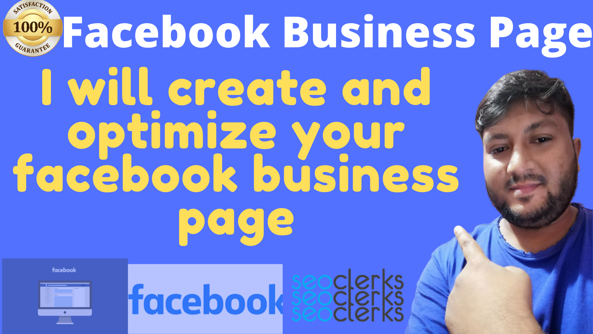 Facebook Business Page create with design