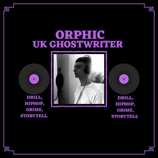 Ghostwrite 2 rap verses | Hip hop, Grime, Drill, Story tell, Drum n Bass