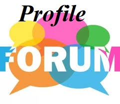 I can do 30 profile forum for your site business