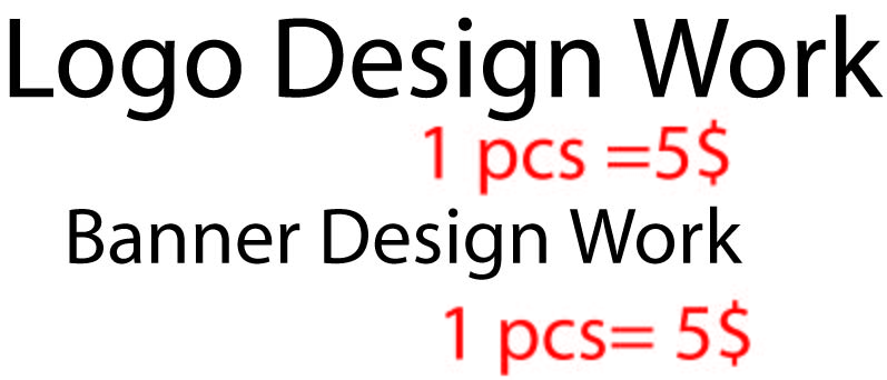 Logo Design & Banner Design work