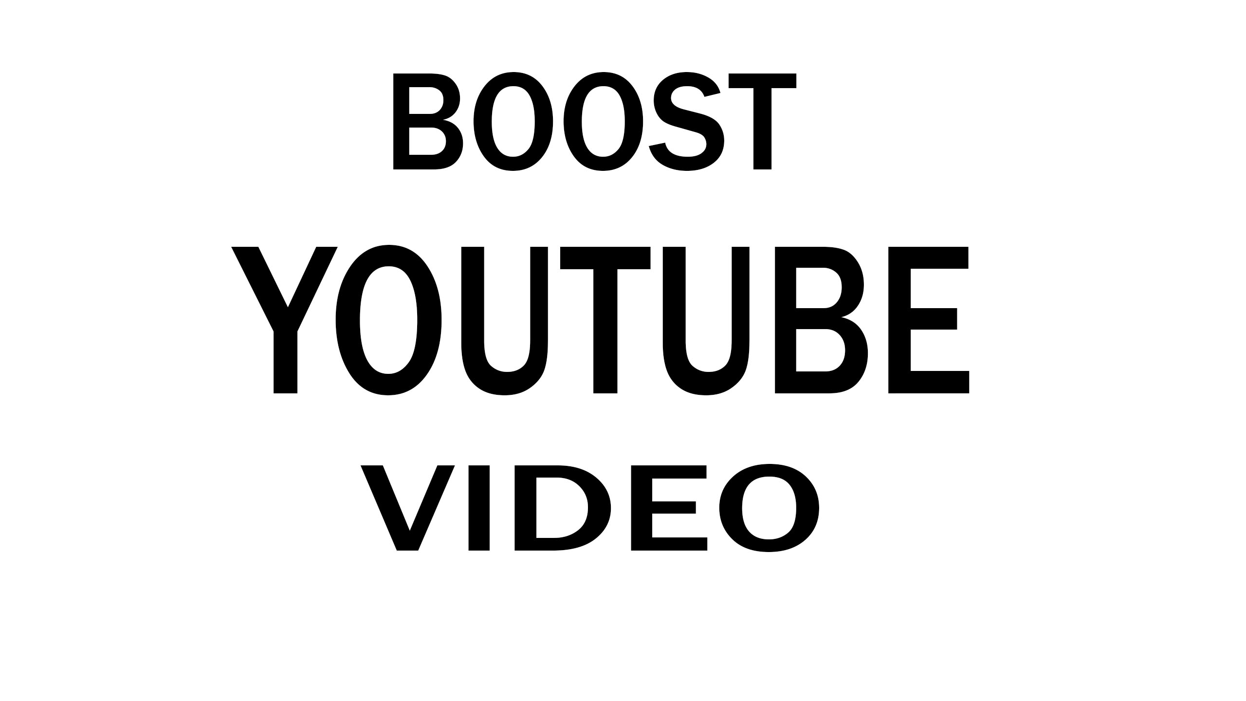 I will do promotion video and gain organic traffic