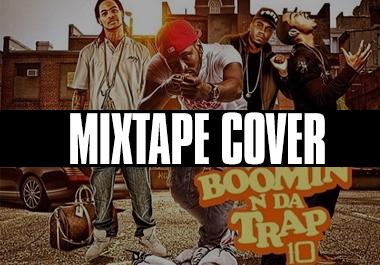 Professional mixtape cover design