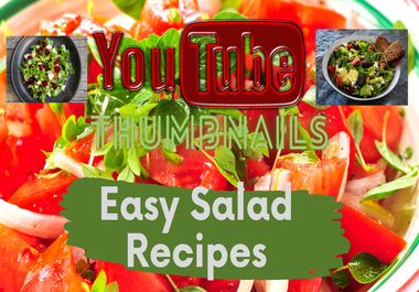 I will Design Professional 10 Youtube Thumbnails Create