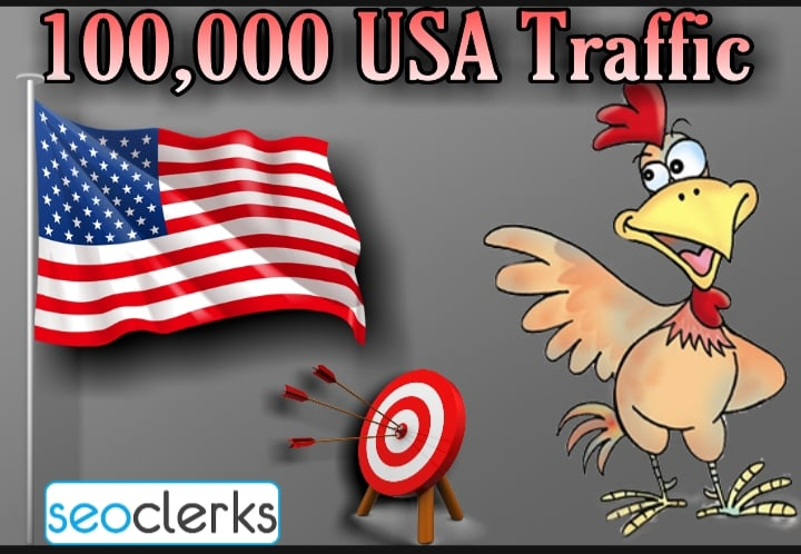 100,000 USA Targeted Traffic with Low Bounce Rate