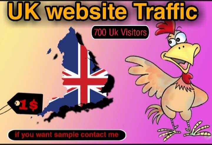 2000+ UNITED KINGDOM TARGET TRAFFIC YOUR WEBSITE