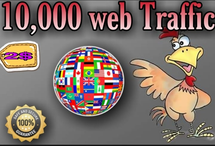 Send 10,000 Human Visitors From worldwide to your Website or blog
