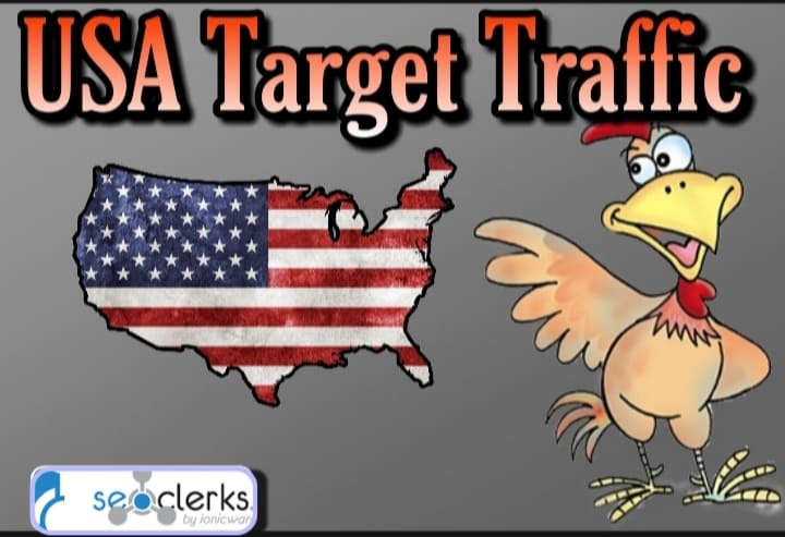 I Will send 2,000 USA Targeted Traffic with Low Bounce Rate