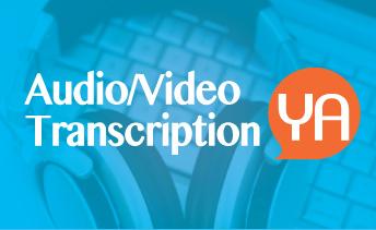 Transcription english and arabic Audio Video