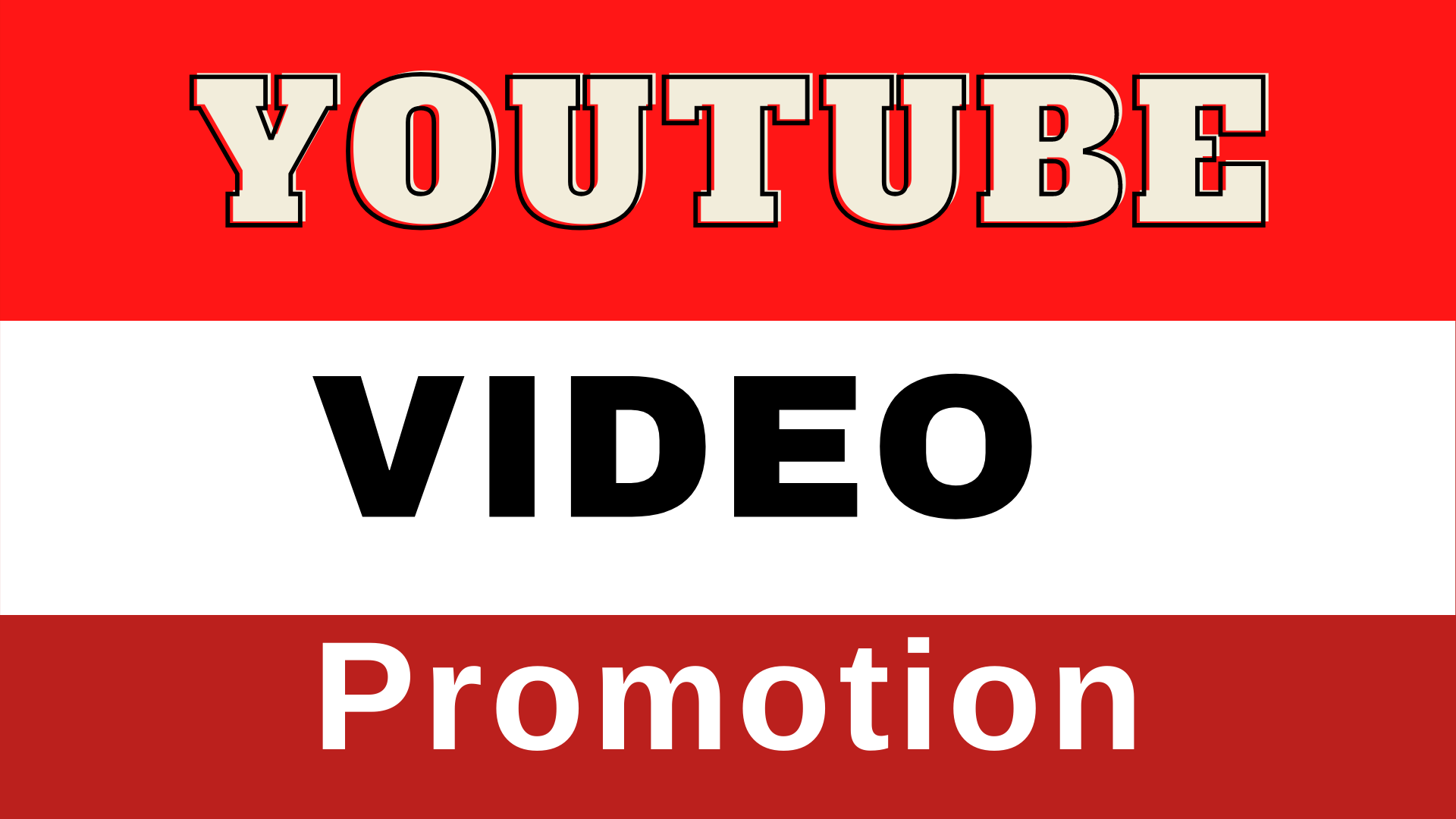 Real organic YouTube marketing and promoting