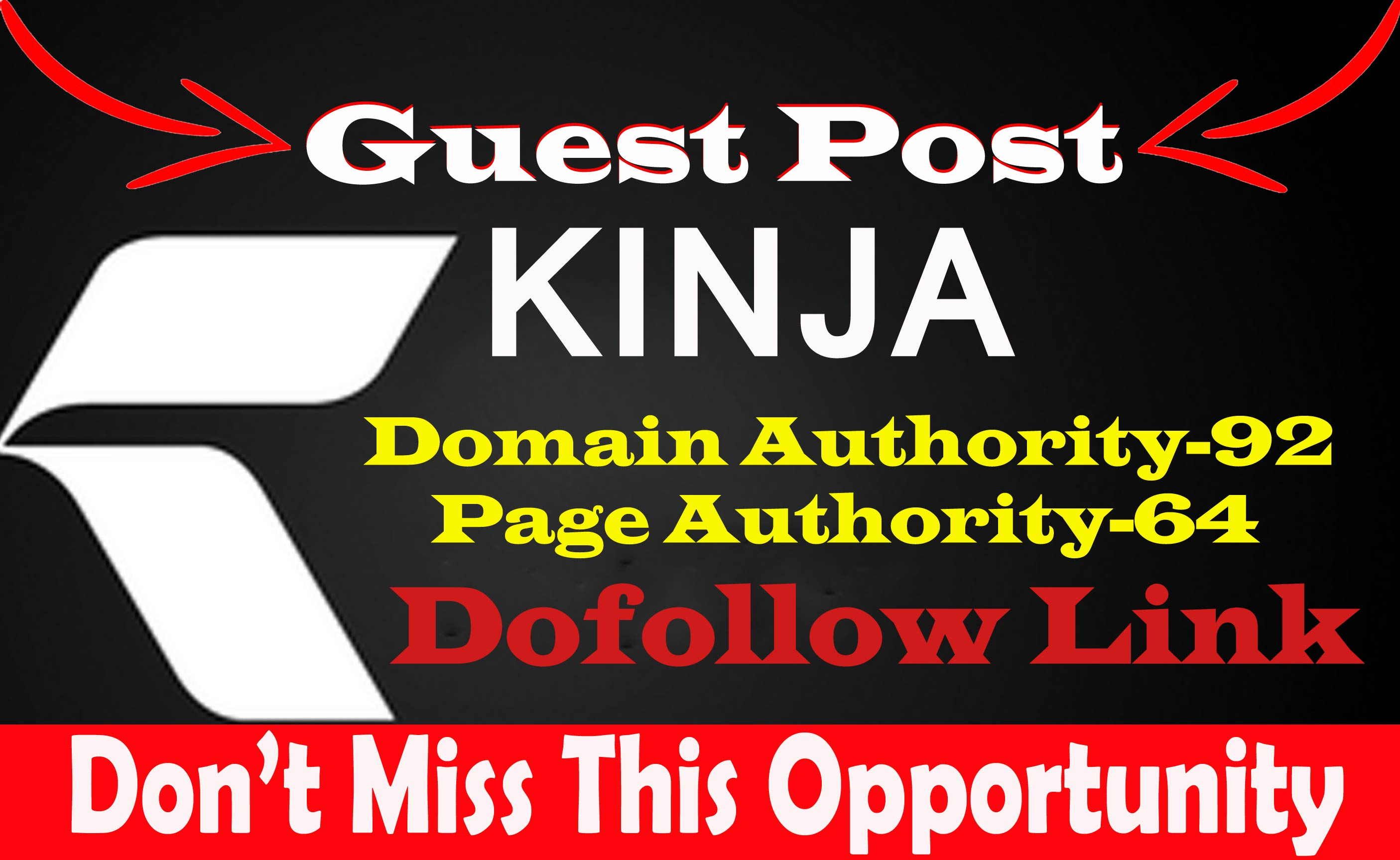Write And Publish Dof0llow Guest Blog Post On Kinja. com DA92 With permanent backlinks