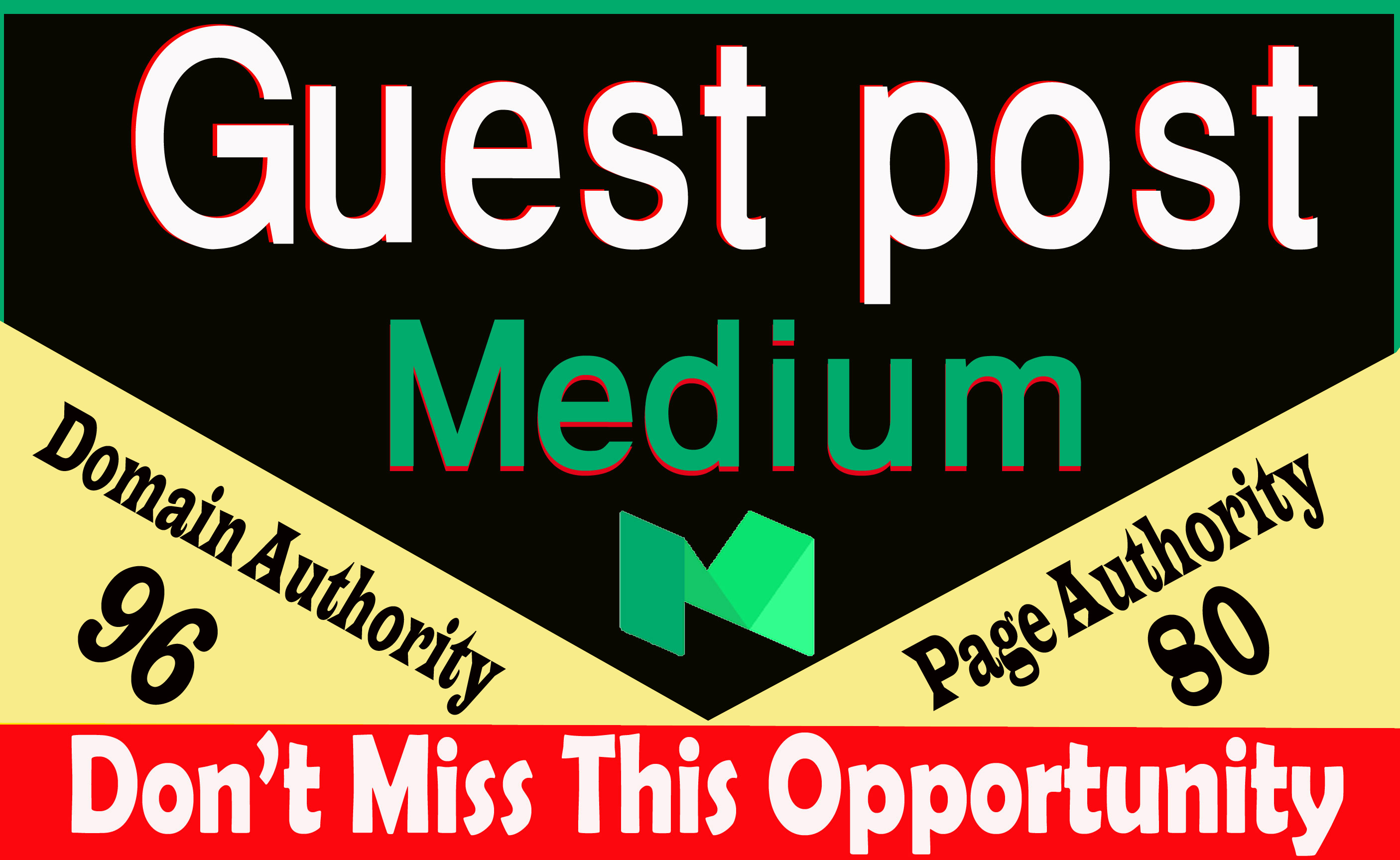 Write and publish guest post Medium .com DA-95, 100% index guarantee within 24 hours
