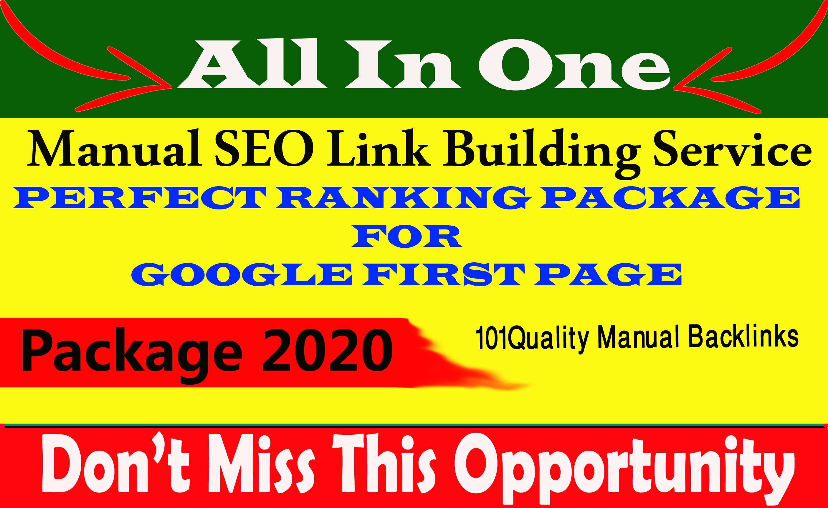 Rank Your Website on Google 1st Page And high Traffic Monthly Manual SEO Link Building Service
