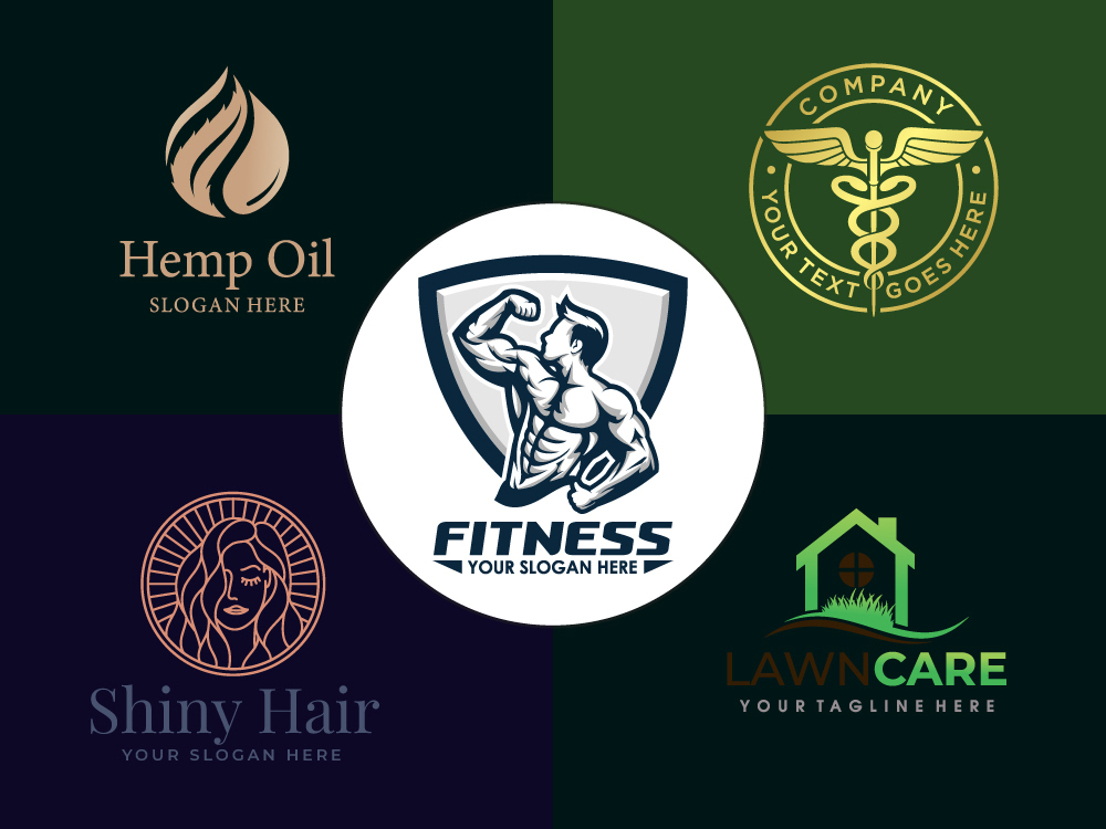 I will do yoga,  spa,  medical,  fitness,  herbal,  CBD,  beauty,  lash,  fashion logo design