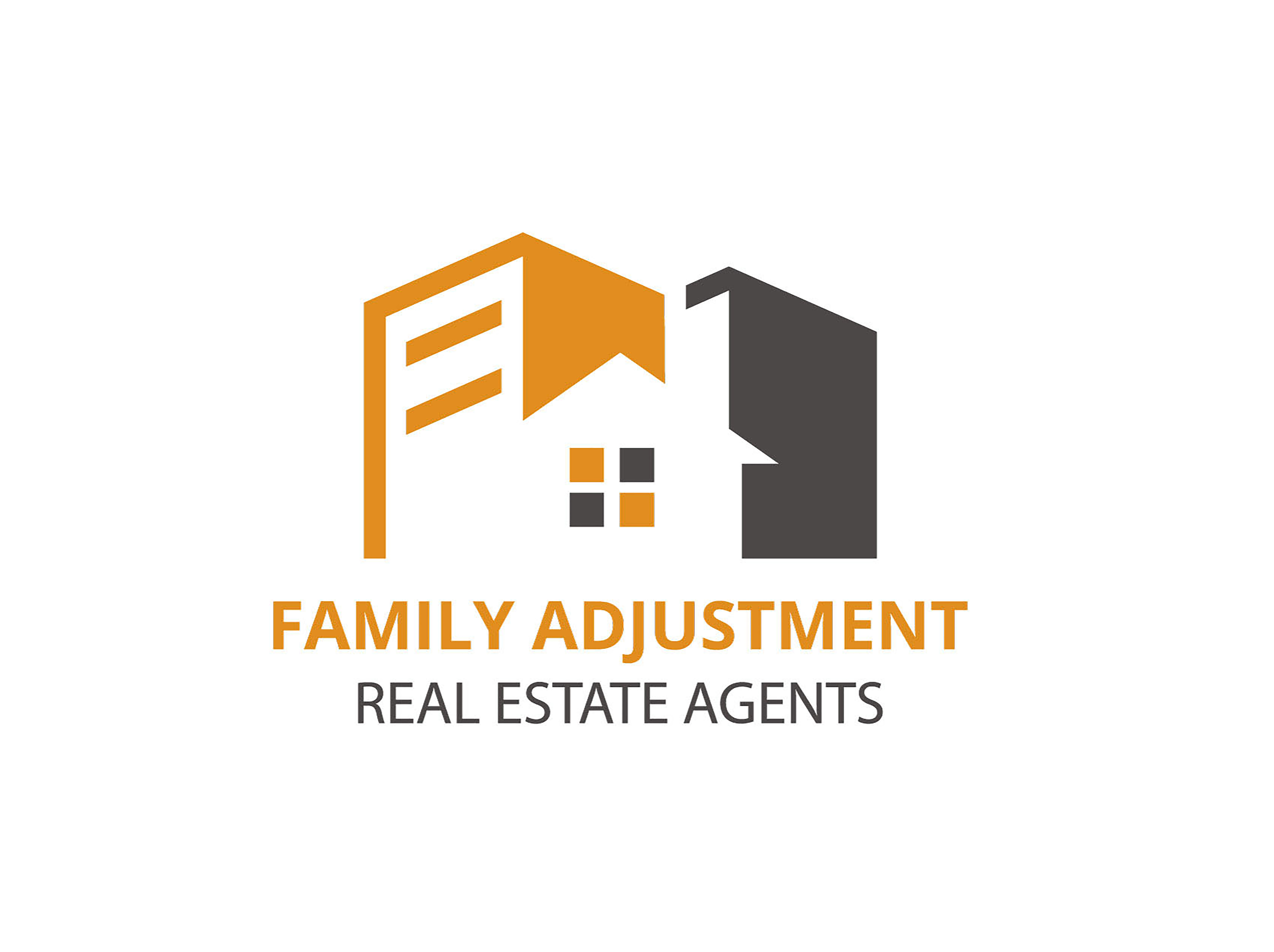 Do real estate logo design,construction,property,agency,home based logo design